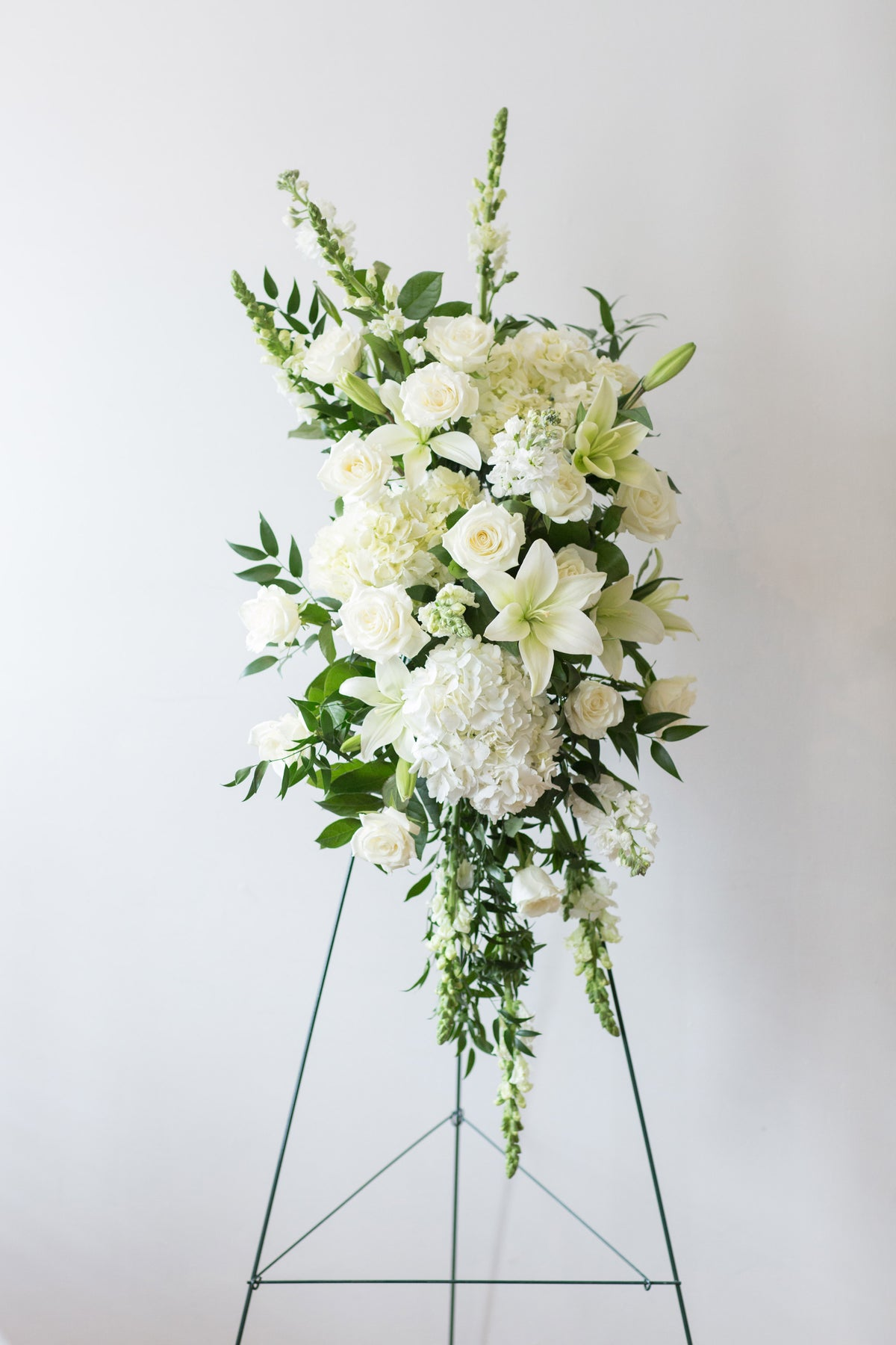 Standing Spray Sympathy Arrangement