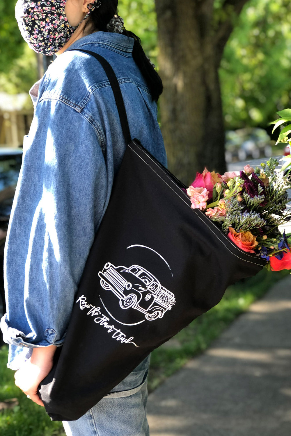 Rosie's Bouquet Tote Bag