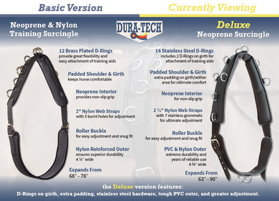 Dura-Tech® Deluxe Neoprene Surcingle