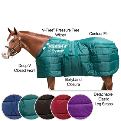 Adjusta-Fit® Dura-Nylon® V-Free® Guardian Bellyband Stable Blanket - Midweight