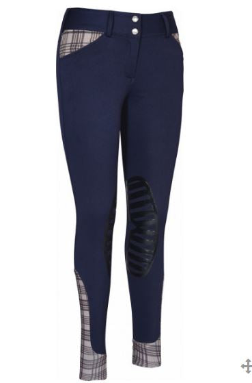 Baker Ladies Pro Silicone Knee Patch Breeches - 9615-795