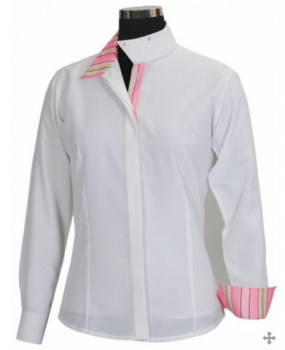 Equine Couture Ladies Isabel Coolmax Long Sleeve Show Shirt