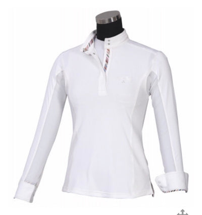Equine Couture Ladies Cara Long Sleeve Show Shirt - 110754