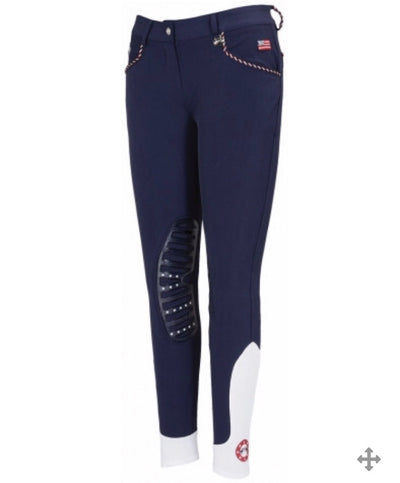 Equine Couture Ladies Centennial Knee Patch Breeches - 110589