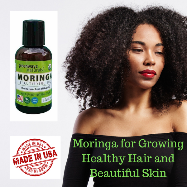Moringa for Growing Healthy Hair and Beautiful Skin