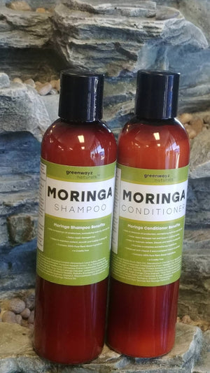 Moringa Shampoo & Conditioner (8oz)