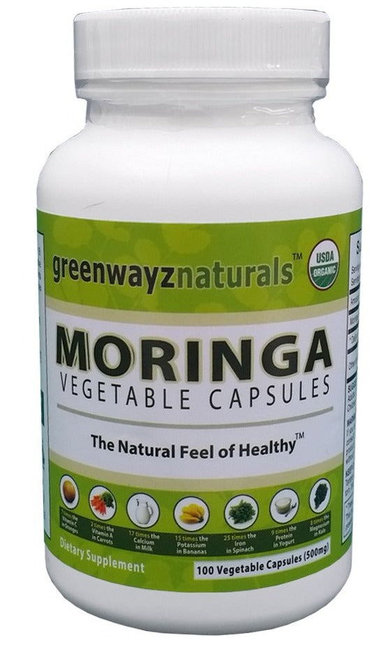 GreenwayzNaturals Moringa Vegetable Capsule