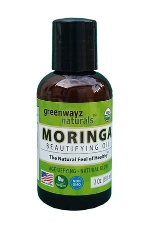 Moringa Oil 2 oz for Healthy Hair Skin and Body
