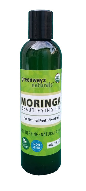 4oz 100% Vegan Natural Moringa  Oil Hair Skin and Body Health
