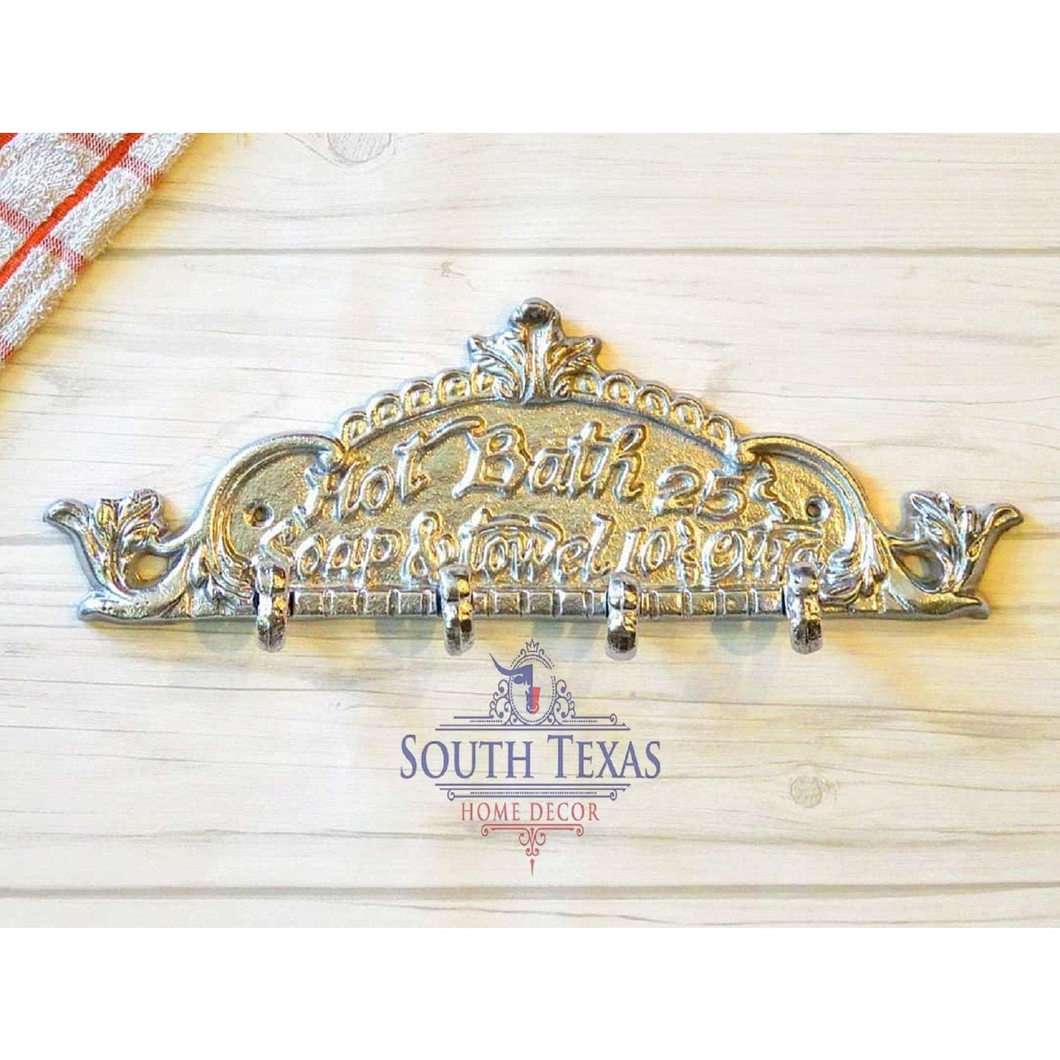 South Texas Home Decor Rustic Bathroom Wall Decor Farmhouse Bathroom Sign Rustic Bathroom Signs