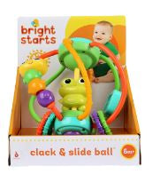 Bright Starts - Clack & Slide Activity Ball