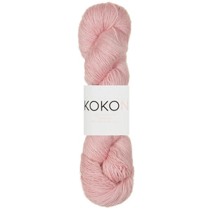 KOKON Merino Linen Fingering - Cotton Candy