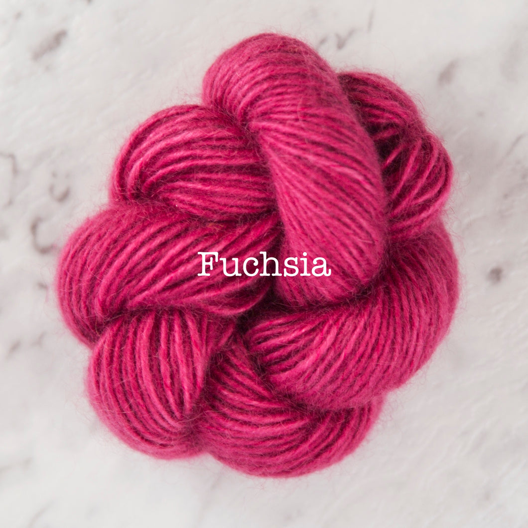 Rosabella...threads of pure luxury - PRIMA 5 - 25g skein - Fuchsia