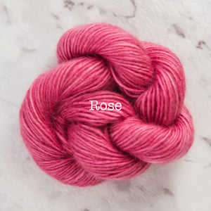 Rosabella...threads of pure luxury - PRIMA 5 - 25g skein - Rose