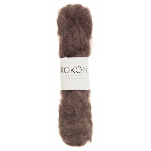 KOKON Chunky Mohair - Rust - NEW COLOUR JUST ARRIVED