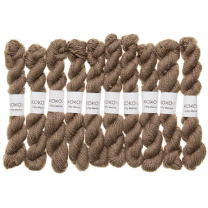 KOKON - Fingering Weight Merino Mini Skein - Dune