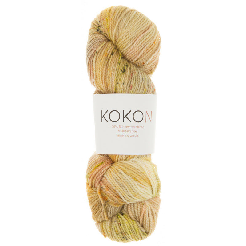 Kokon Orchard Hand Painted Fingering - NEW COLOUR JUST ARRIVED