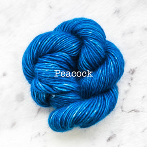 Rosabella...threads of pure luxury - PRIMA 5 - 25g skein - Peacock