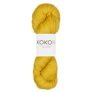 KOKON - Fingering Weight Merino - Gold