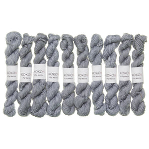 KOKON - Fingering Weight Merino Mini Skein - Cloud
