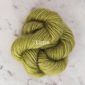 Rosabella...threads of pure luxury - PRIMA 5 - 25g skein - Lime