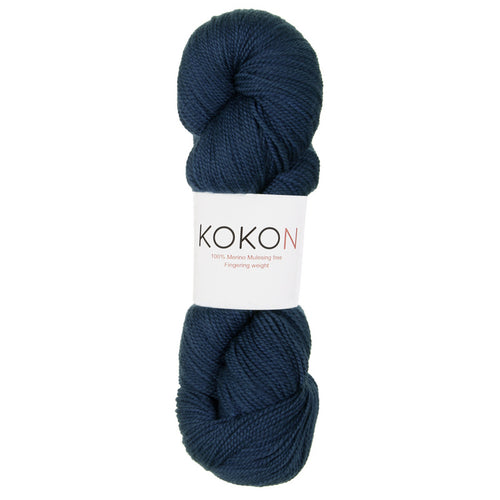 KOKON - Fingering Weight Merino - Sea
