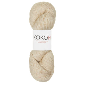 KOKON - Fingering Weight Merino - Stone