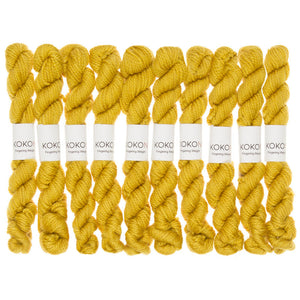 KOKON - Fingering Weight Merino Mini Skein - Gold