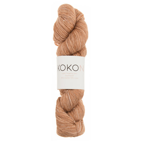 KOKON Merino Linen Fingering - Copper - NEW COLOUR JUST ARRIVED