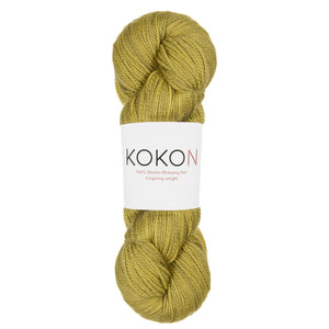 KOKON - Fingering Weight Merino - Cress