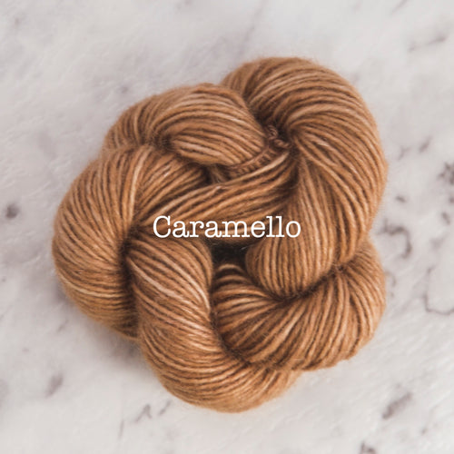 Rosabella...threads of pure luxury - PRIMA 5 - 25g skein - Caramello
