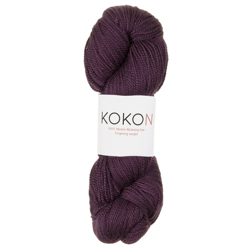 KOKON - Fingering Weight Merino - Rock