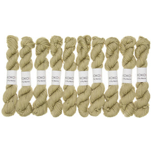 KOKON - Fingering Weight Merino Mini Skein - Steppe