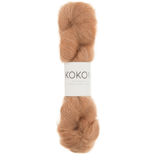 KOKON Chunky Mohair - Copper - NEW COLOUR JUST ARRIVED