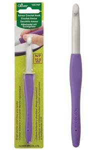 Clover Amour Crochet Hook - 10mm / US N15