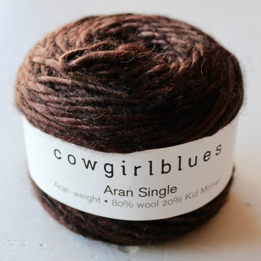 Cowgirlblues - Aran Single - Coffee Bean