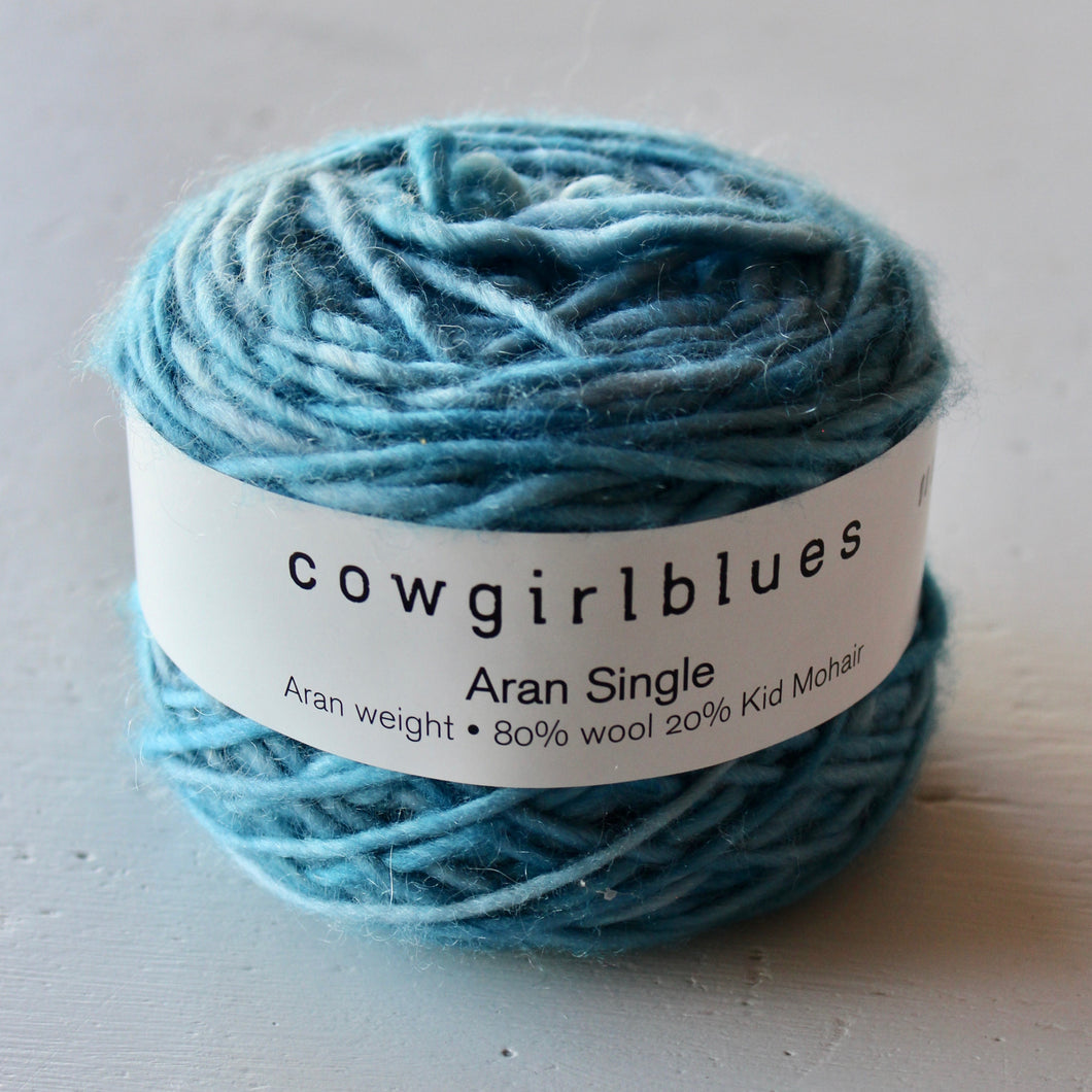 Cowgirlblues  - Aran Single - Seagrass