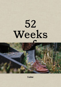 52 Weeks of Socks Book by Laine