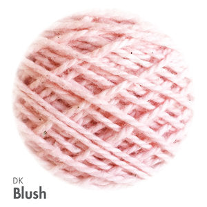 MoYa 100% Cotton DK - 50gram ball  - Blush (Solids)