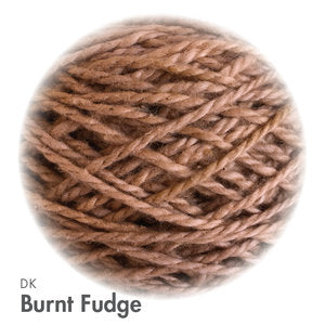 MoYa 100% Cotton DK - 50gram ball  - Burnt Fudge