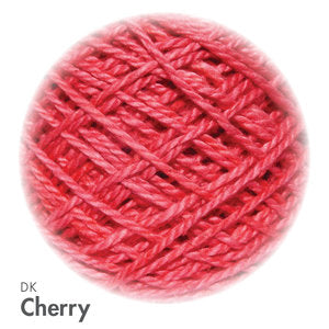 MoYa 100% Cotton DK - 50gram ball  - Cherry