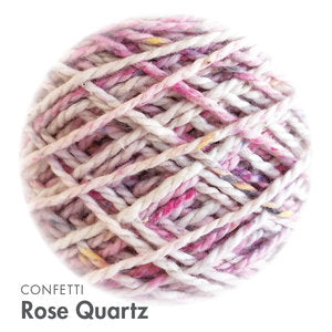 MoYa 100% Cotton DK - 50gram ball  - Rose Quartz (Confetti)