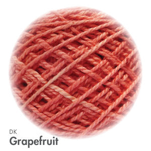 MoYa 100% Cotton DK - 50gram ball  - Grapefruit