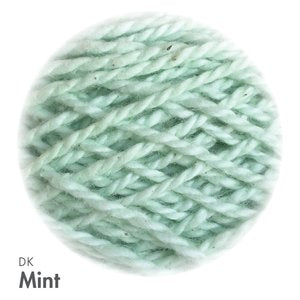 MoYa 100% Cotton DK - 50gram ball  - Mint (Solids)