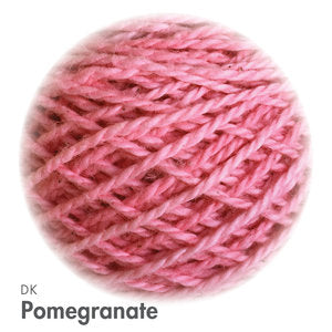 MoYa 100% Cotton DK - 50gram ball  - Pomegranate (Solids)