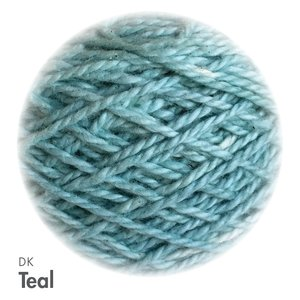 MoYa 100% Cotton DK - 50gram ball  - Teal (Solids)