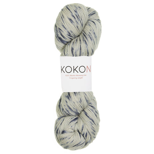 KOKON - Fingering Weight Merino - Sea Speckled