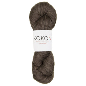 KOKON - Fingering Weight Merino - Smoke