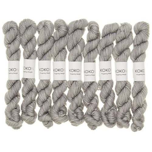 KOKON - Fingering Weight Merino Mini Skein - Star