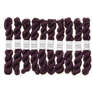 KOKON - Fingering Weight Merino Mini Skein - Rock